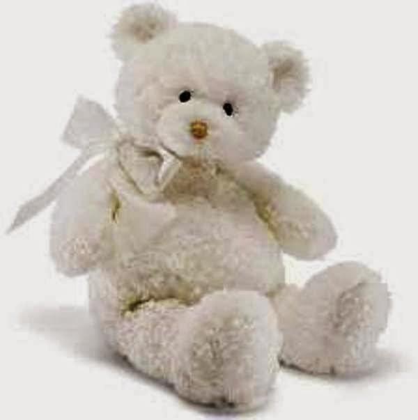 Gambar gratis boneka beruang putih lucu banget