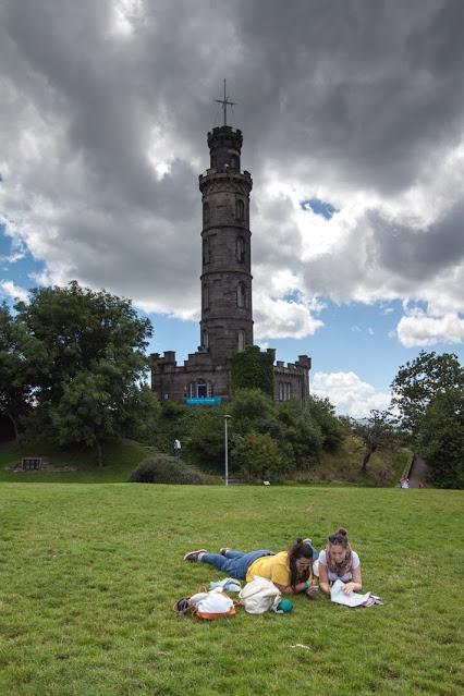 Calton hill-Edimburgo