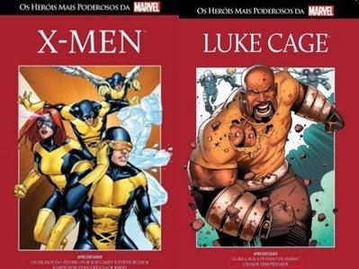 Resenha Os Heróis Mais Poderosos da Marvel X- Men & Luke Cage  - Vol. 10 e 11