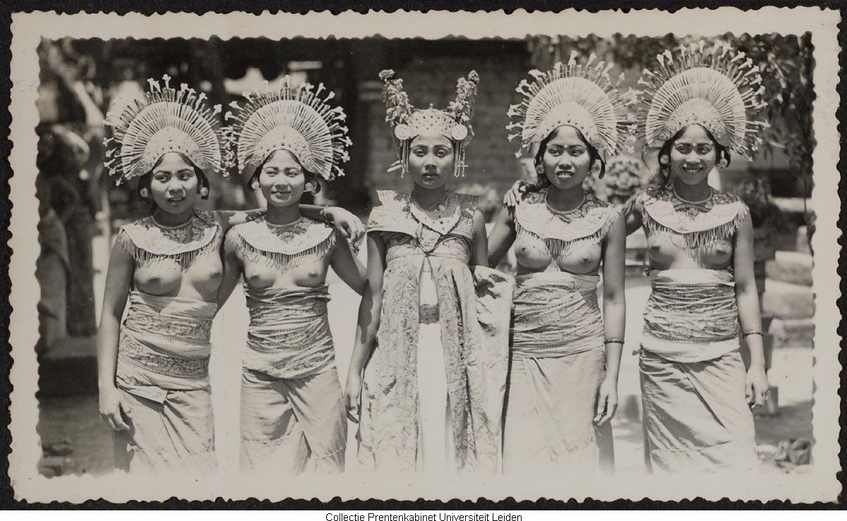 Bali Tempo Dulu Wanita Bali