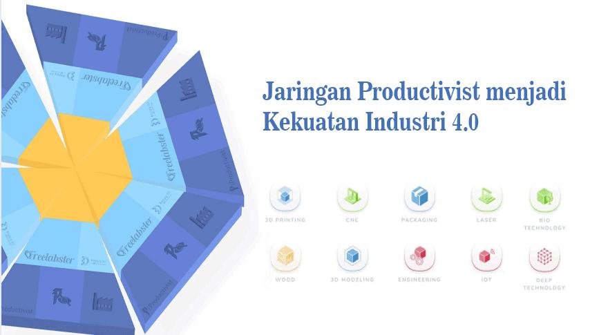 Jaringan Productivist menjadi Kekuatan Industri 4.0