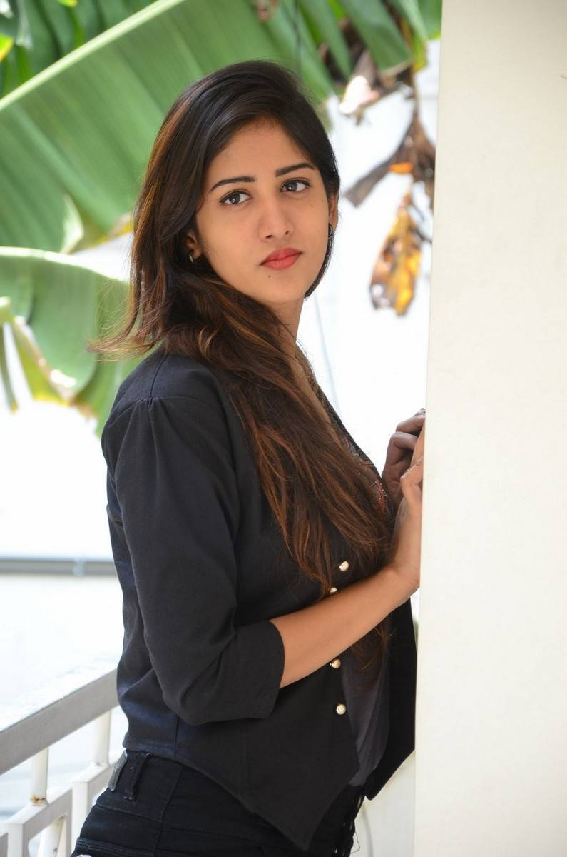 Chandini Chowdary Photos In Black Dress
