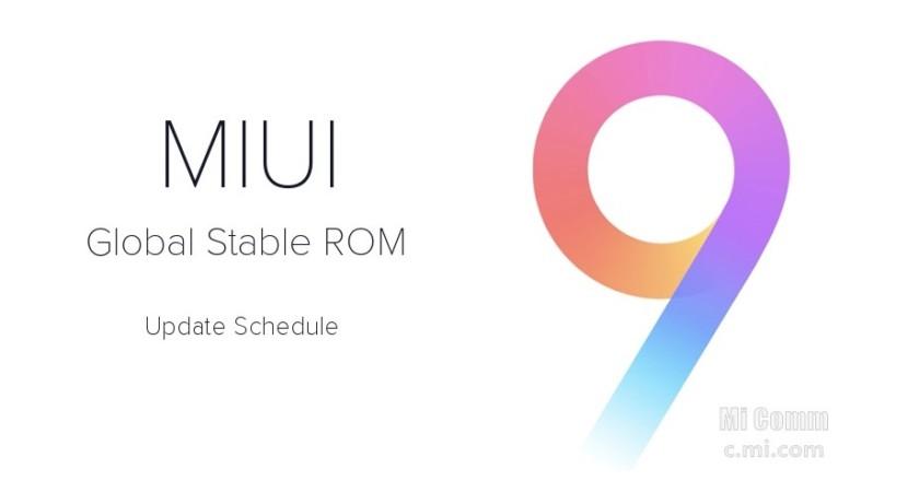 Daftar HP Xiaomi Akan Mendapatkan Update MIUI 9