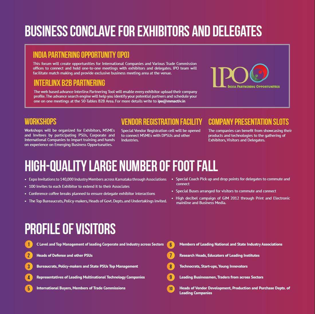 global investors meet karnataka 2012 olympics