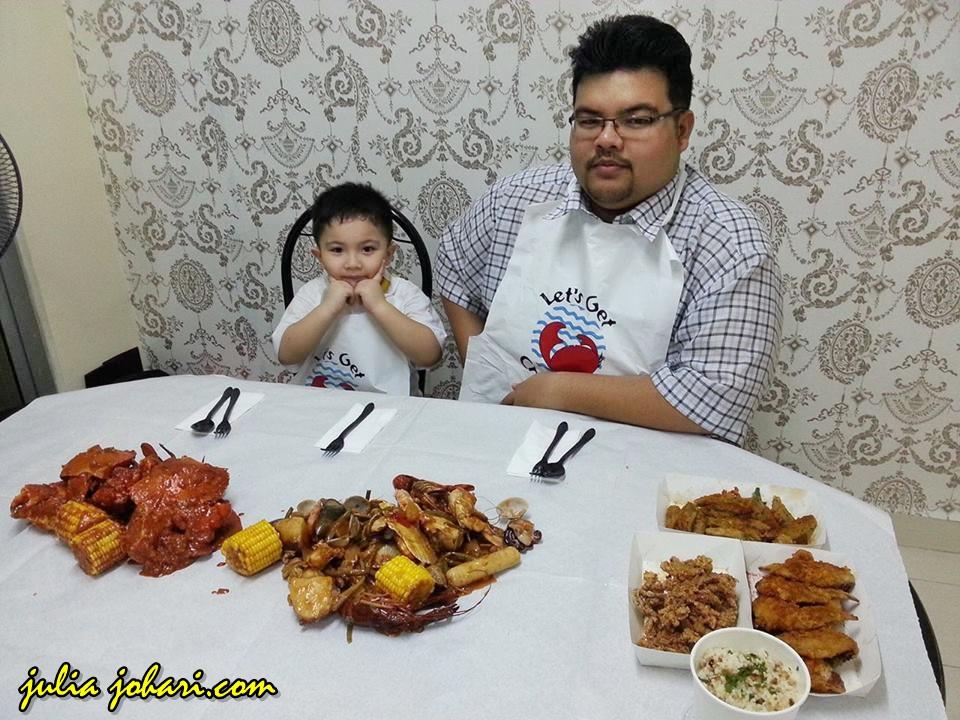 Canggihnya Order Online Makanan Seafood Terus Ke Rumah ...