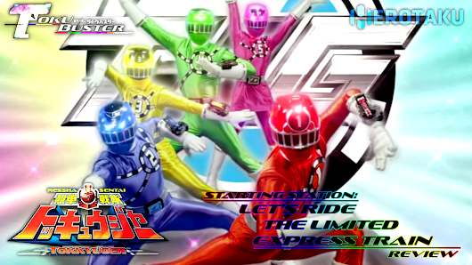Ressha Sentai ToQger Episode 1 Review: Time To Board the Imagination Train!