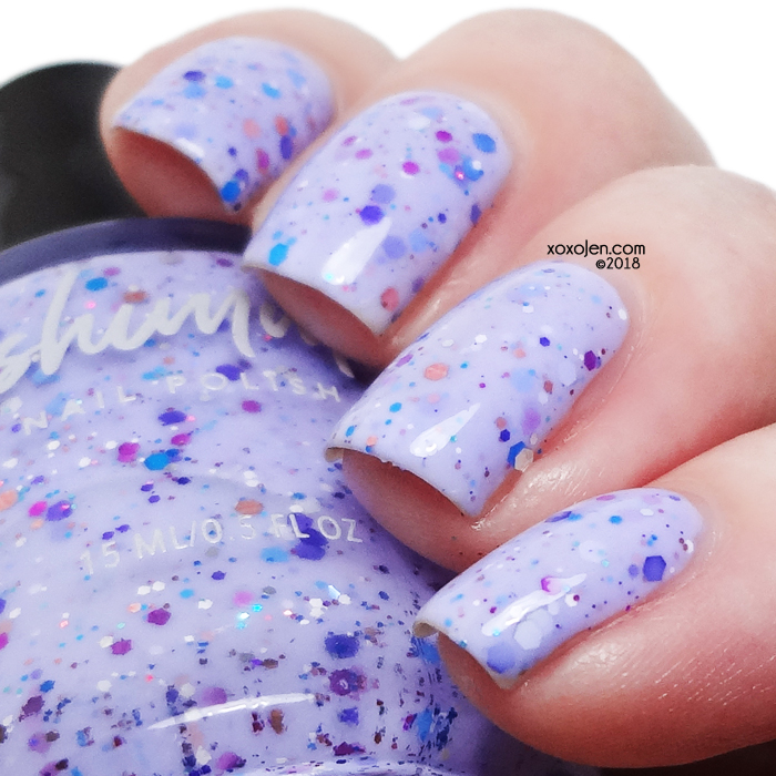 xoxoJen's swatch of kbshimmer Iris My Case (2013)