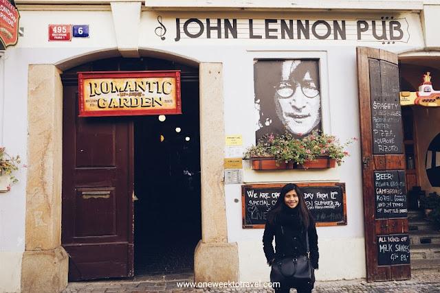 john lennon pub in prague