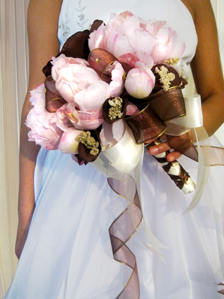 Pink And Chocolate Brown Wedding Theme: Pink And Brown