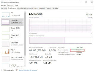 بدون أن تفتح حاسوبك ، اكتشف ما إذا كان الكمبيوتر الخاص بك يحتوي على فتحات الرام فارغة لزيادة مساحة الرام أو لا