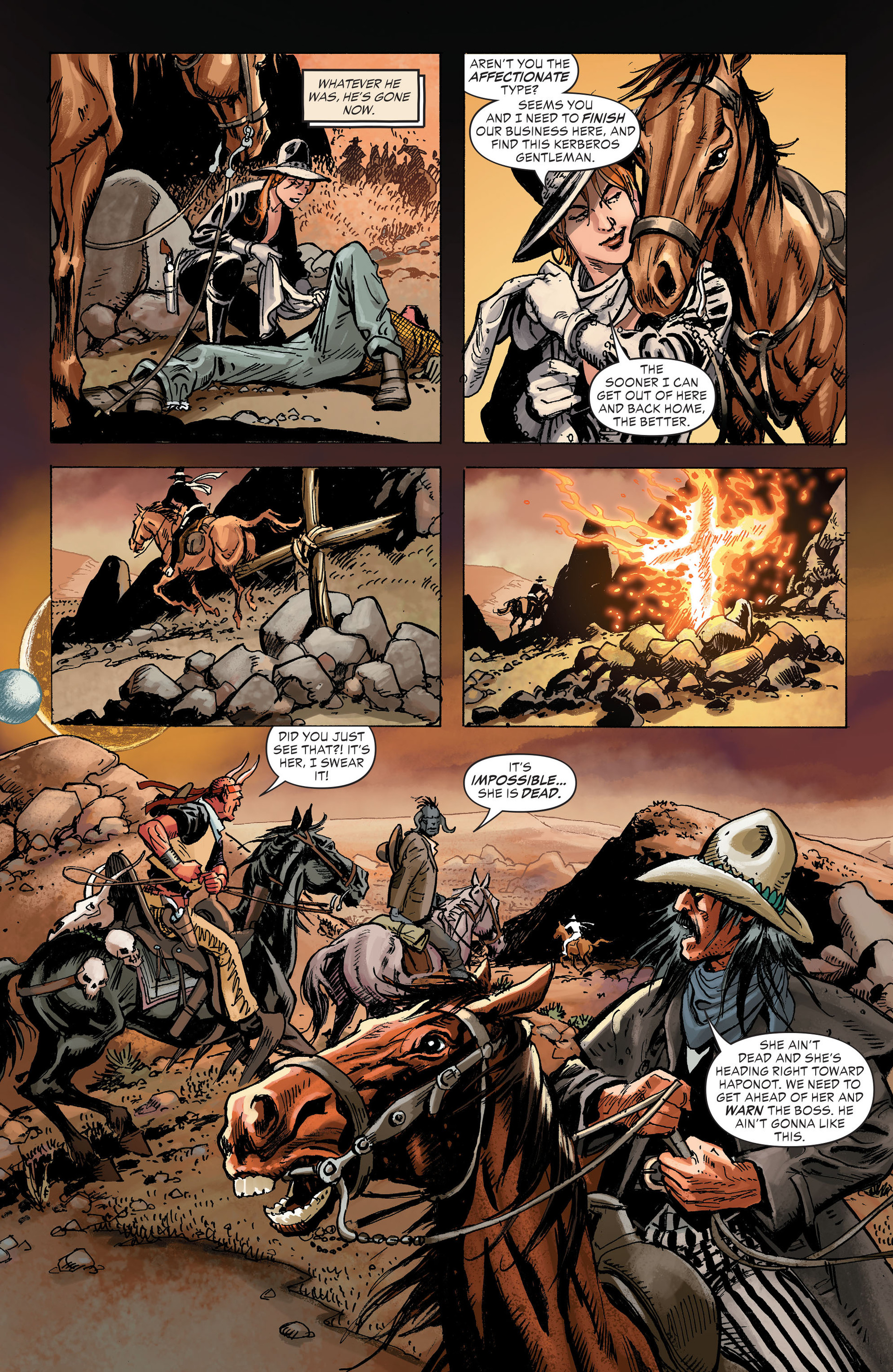 Read online All-Star Western (2011) comic -  Issue #31 - 18