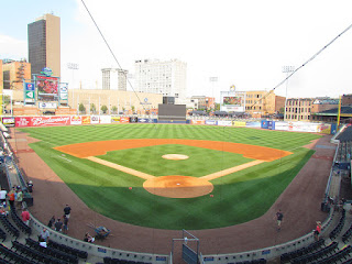 Home to center, Fifth Third Field