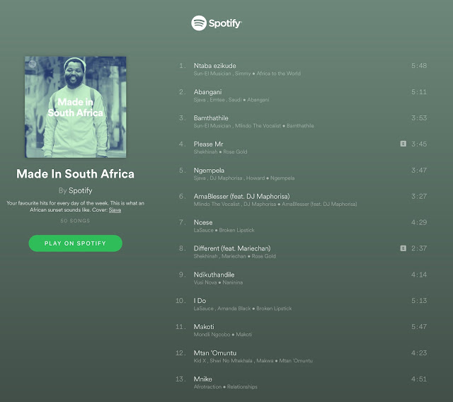 Enjoy A Proudly South African Celebration with @SpotifySA #HeritageDay #SpotifySouthAfrica