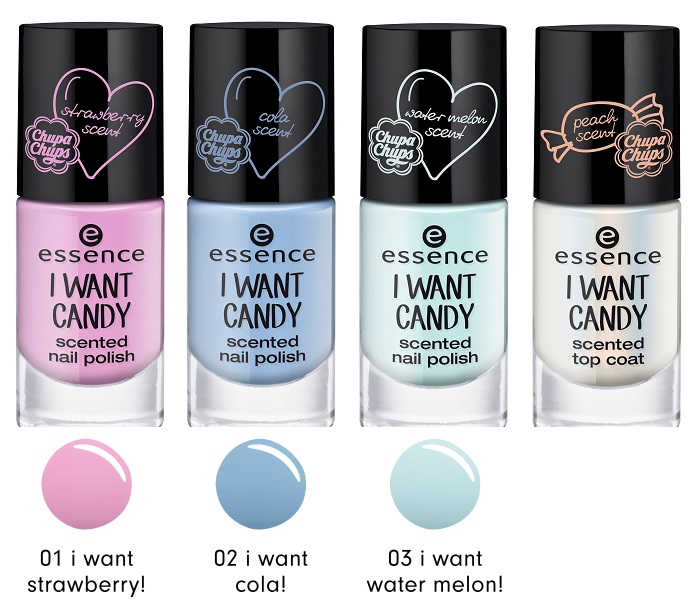 essence I want candy nagellack