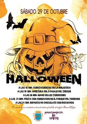 Halloween y pasaje del terror en Cartes 2016