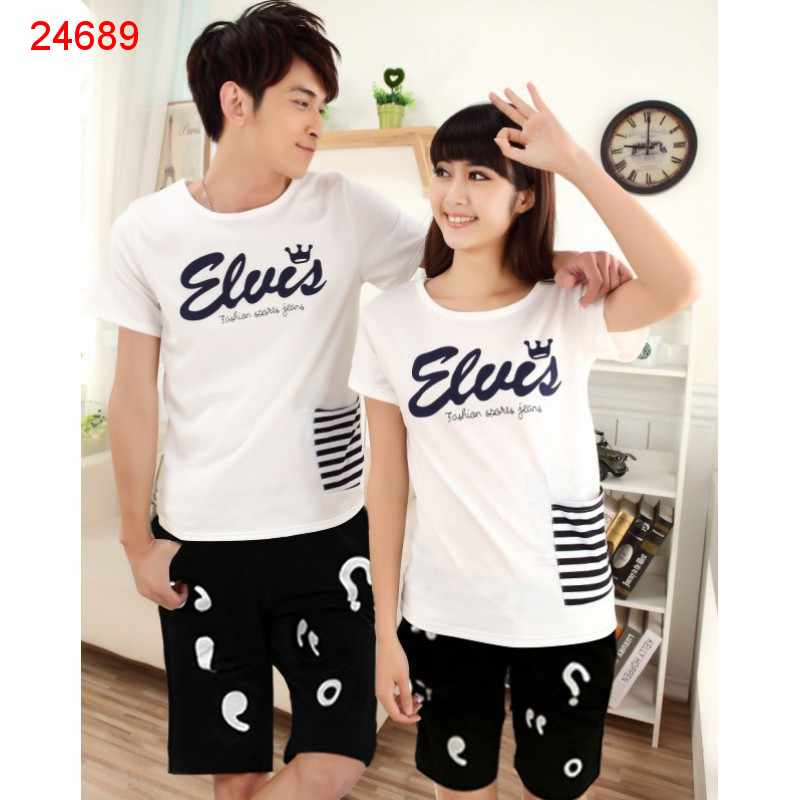 Jual Couple Setelan CS King Elvis - 24689