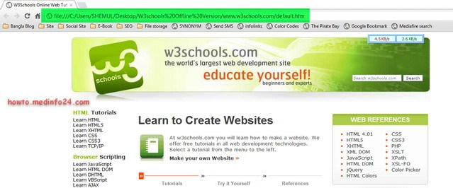 Download Complete W3Schools Offline Version Tutorials Free