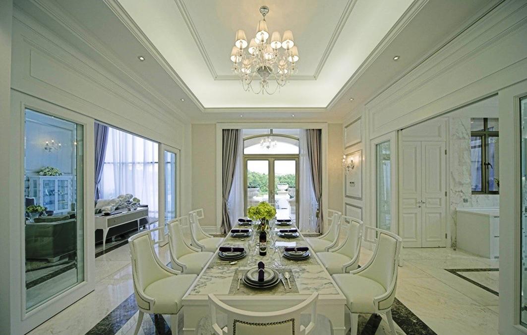 Referensi Desain Interior Rumah Gaya Eropa Yang Klasik Dan