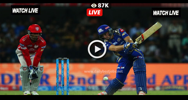 IPL 2018 Live Streaming MI vs KXIP Live Cricket Scores Online