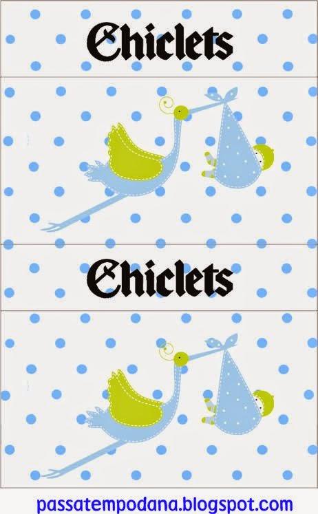 Etiquetas para Imprimir Gratis de Es un Niño.
