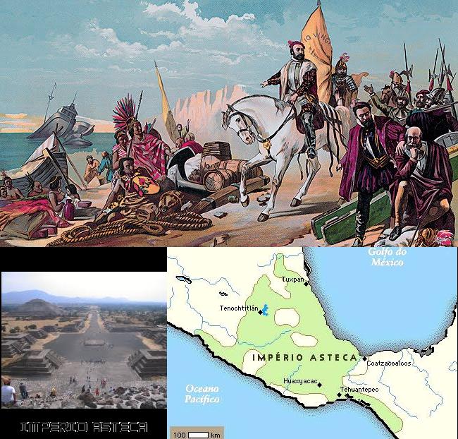 Império Asteca, História e Destruição do Império Asteca