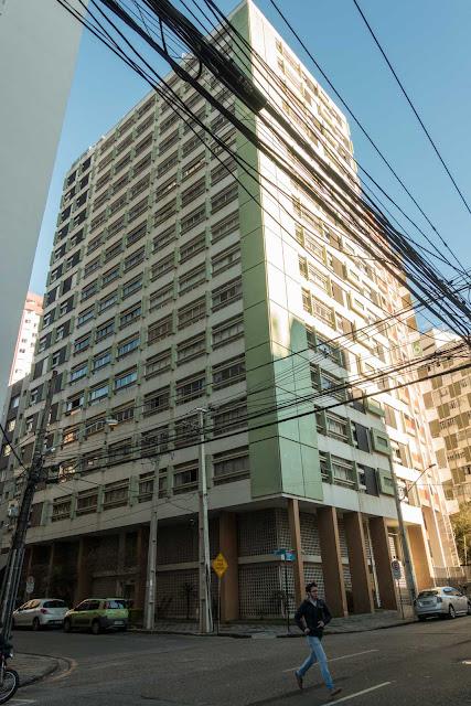 edifício Dr. Cândido de Mello e Silva