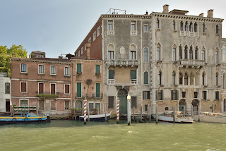 The Ca' Biondetti on the Grand Canal was Carriera's home for many years