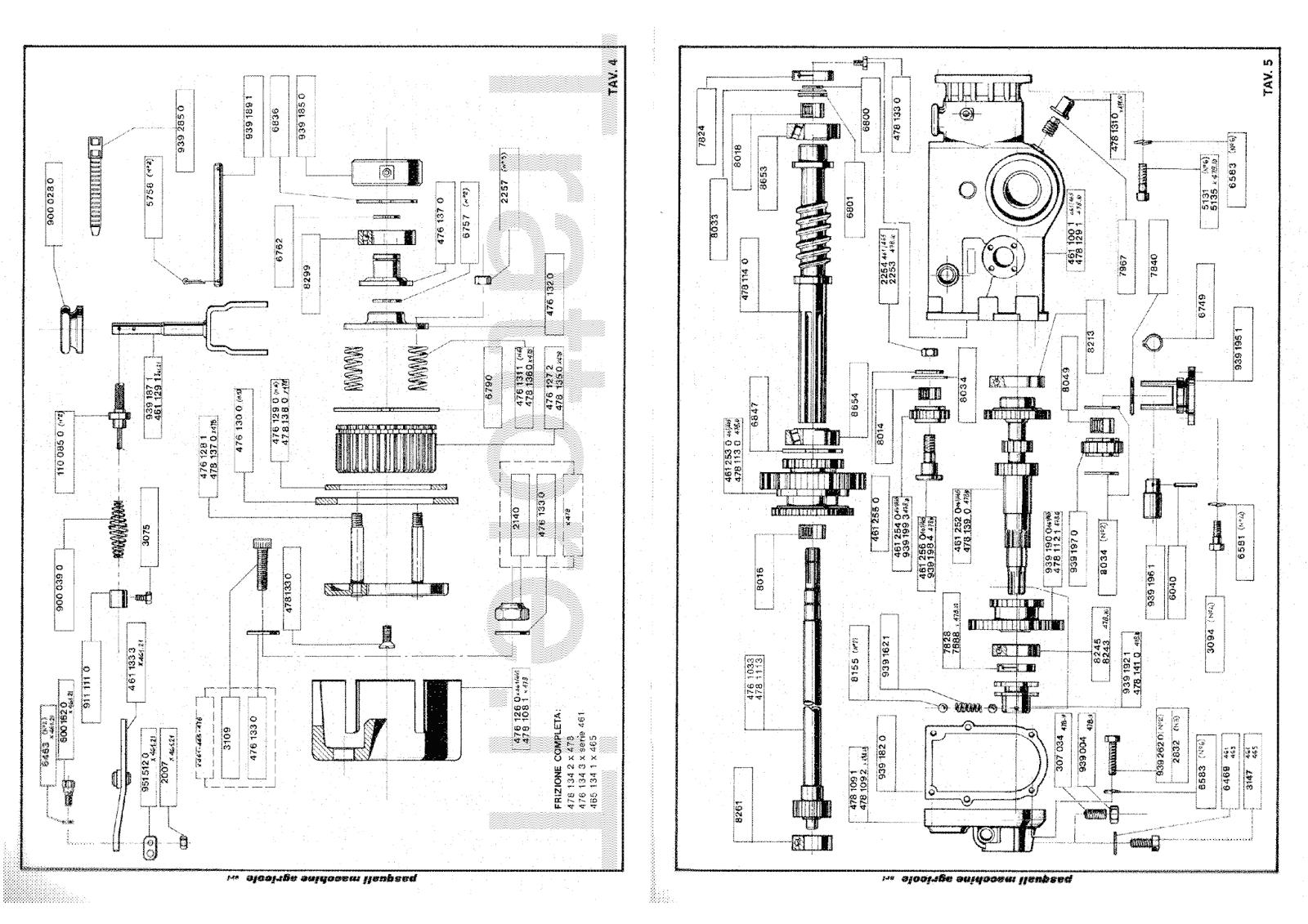 InfoTrattore.it: Motocoltivatore Pasquali 461.11 manuale