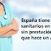 Con Rajoy: 5.000 sanitarios en paro y sin prestación más que hace un año