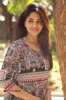 Actress Sunaina Latest Stills in Floral Dress at Pelliki Mundu Prema Katha Trailer Launch  0020.JPG
