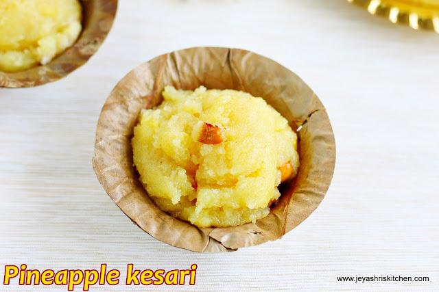 Pineapple- kesari