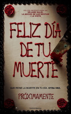 Happy Death Day 2017 DVD Custom HD Latino