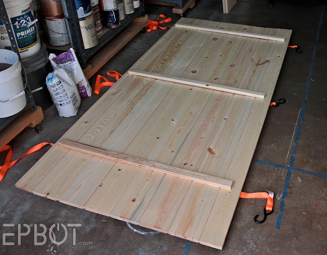 EPBOT: Make Your Own Sliding Barn Door
