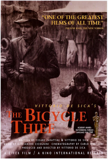 bicycle thieves, directed by vittorio de sica, 1948 Italian Neo-realistic masterpiece