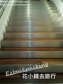 六花亭CAFE樓梯