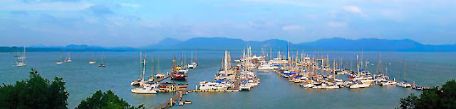 Phuket cruising at Yacht Haven Marina
