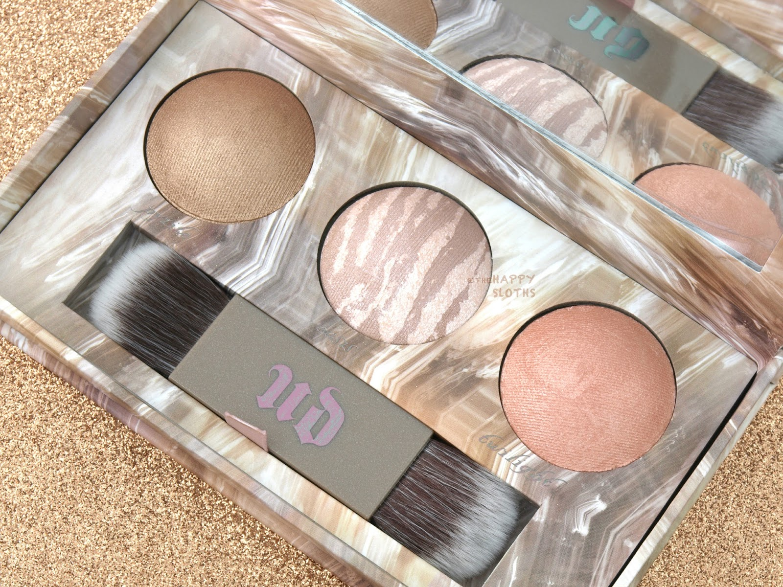Urban Decay Naked Illuminated Trio: Review and Swatches
