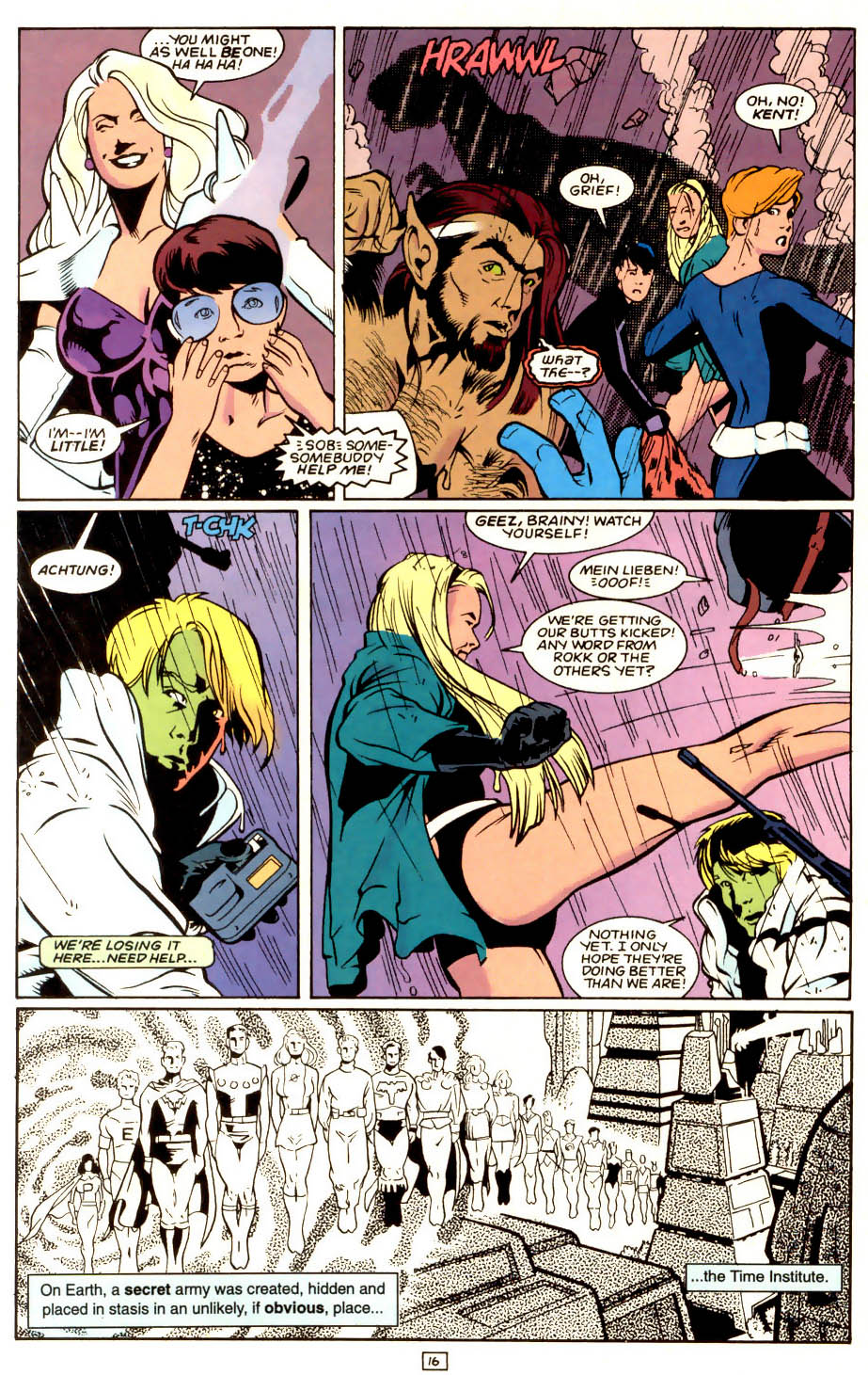 Legion of Super-Heroes (1989) 53 Page 16