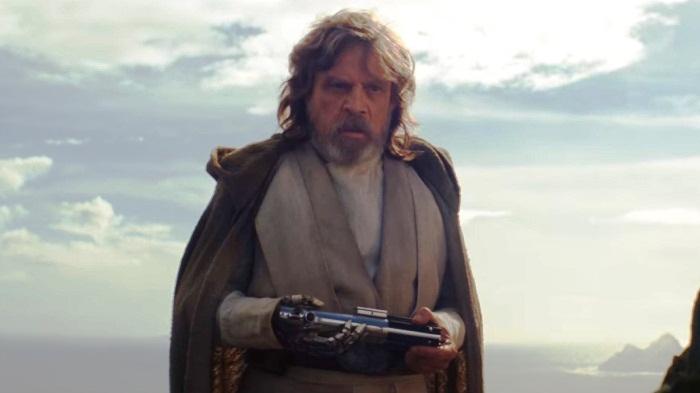Mark Hamill en su icónico personaje de Luke Skywalker