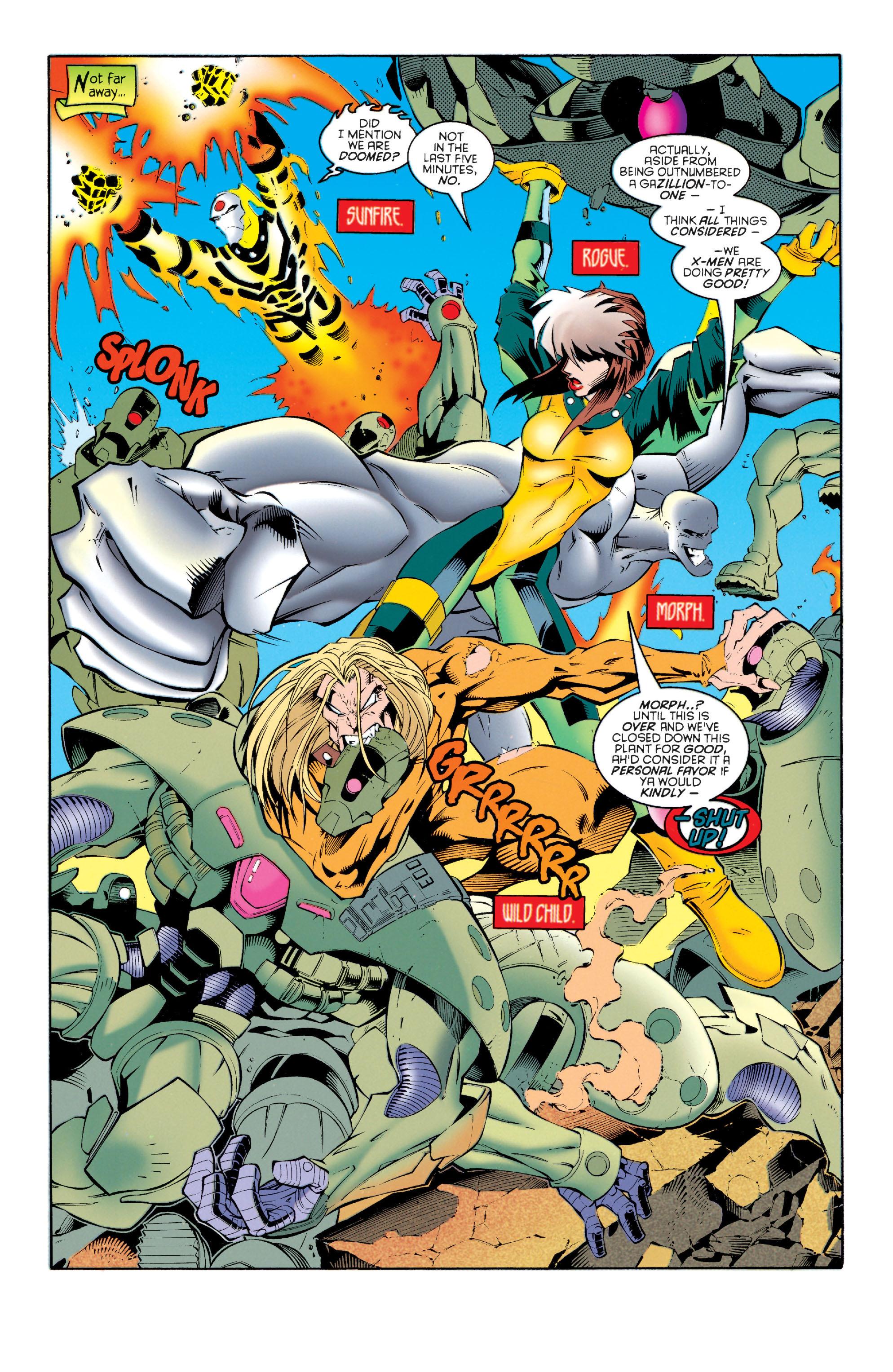 Read online Astonishing X-Men (1995) comic -  Issue #4 - 6