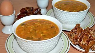 وصفة الحريرة ملكة المائدة الرمضانية المغربية