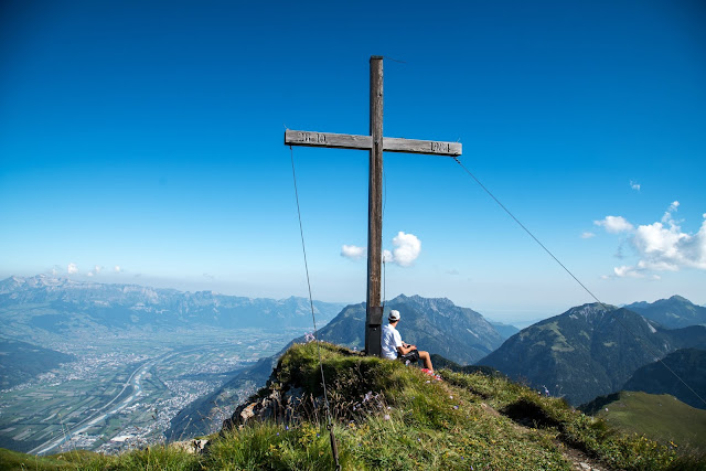 Bergtour Rappenstein von Steg  Wandern Fürstentum Liechtenstein 06