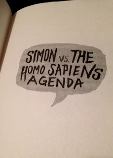 simon vs the homo sapiens agenda book photo