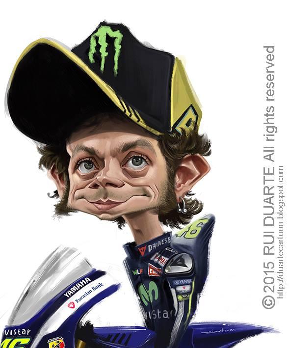 Valentino Rossi por Rui Duarte