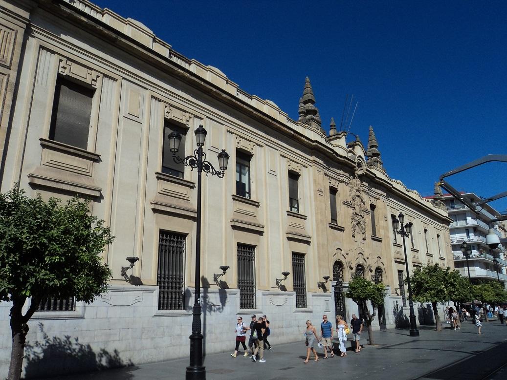Edificio de Correos y Telégrafos de Sevilla