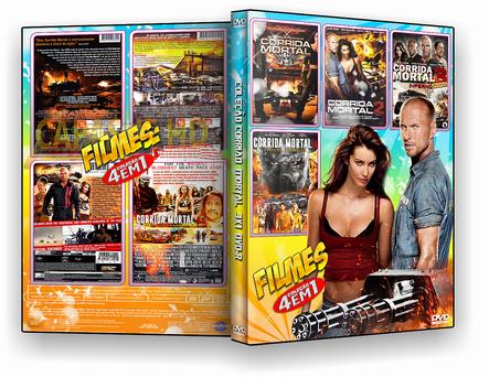 CAPA DVD – Coleção Corrida 4×1 – ISO