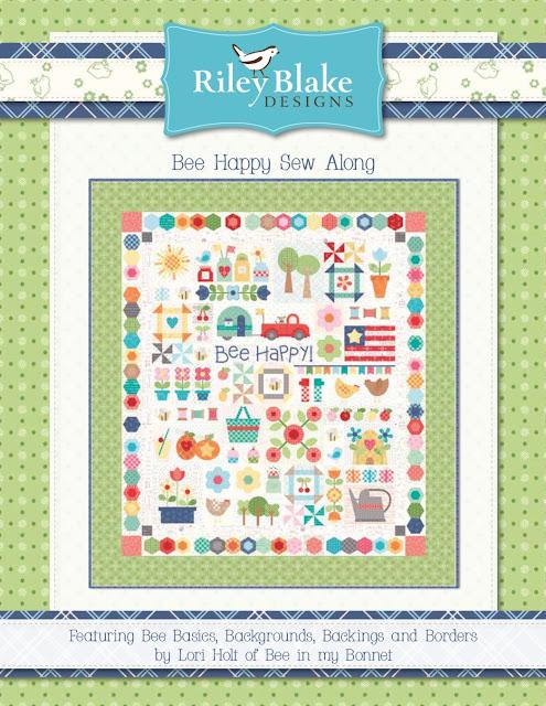 Bee In My Bonnet: Bee Happy Sew Along Guide is Ready!! : lori holt quilt patterns - Adamdwight.com
