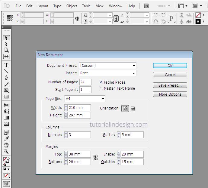Cara Membuat Layout Majalah Sederhana Dengan InDesign