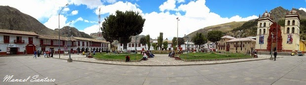 Huancavelica, Plaza de Armas