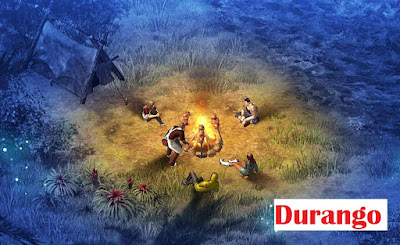 cara bermain game durango di android